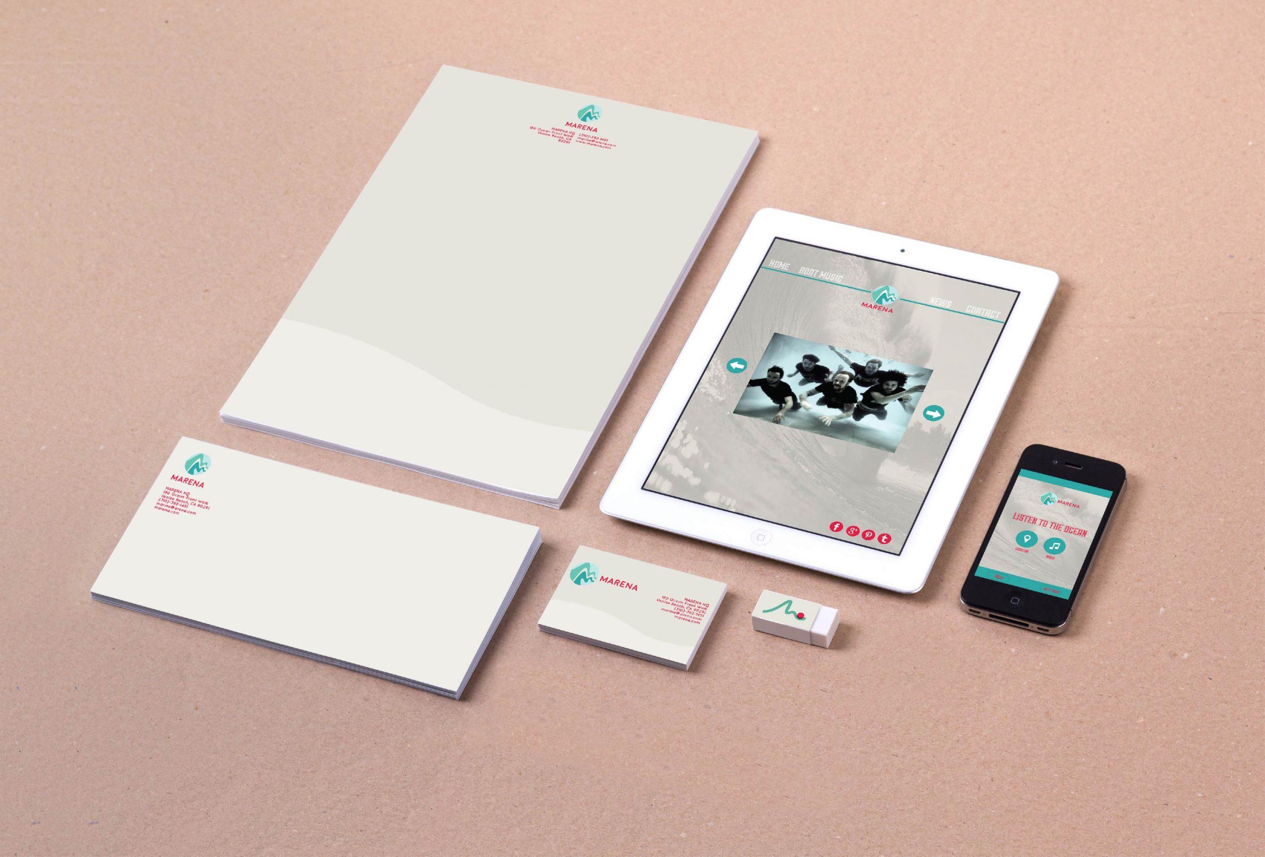 Company Identity & Promo Design